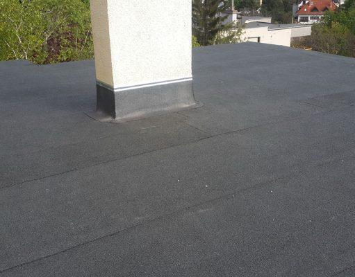 Remek minőséggel végzett tetőszigetelés javítás.