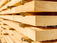 Építkezési fa többféle célra.