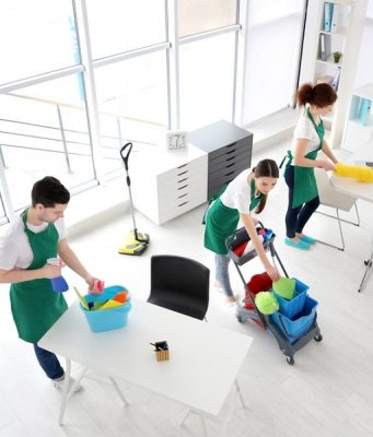 irodai takarítás